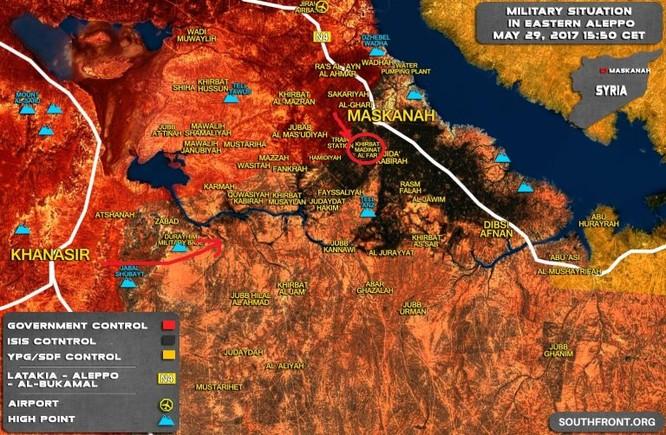 """""""Hổ Syria"""" chiếm hàng loạt cứ địa, sào huyệt IS sắp diệt vong ảnh 2"""
