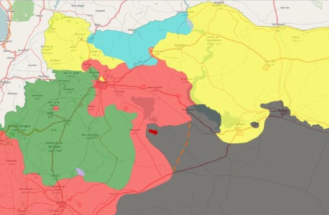 Chiến sự Syria: Quân Assad đè bẹp IS chiếm hàng chục địa bàn ở đông Aleppo ảnh 1