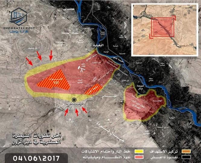 IS dồn binh liều chết tại Deir Ezzor, quân đội Syria nguy cơ thất thủ ảnh 1