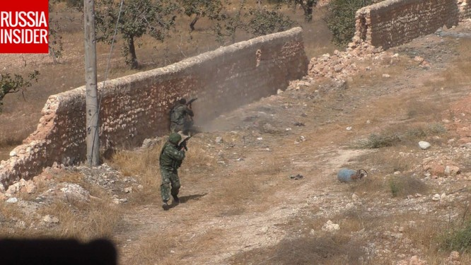 """""""Cố vấn quân sự"""" Nga trực tiếp chiến đấu ở Syria ảnh 4"""