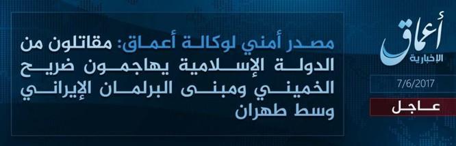 IS tấn công quốc hội và lăng mộ lãnh đạo Iran ảnh 9