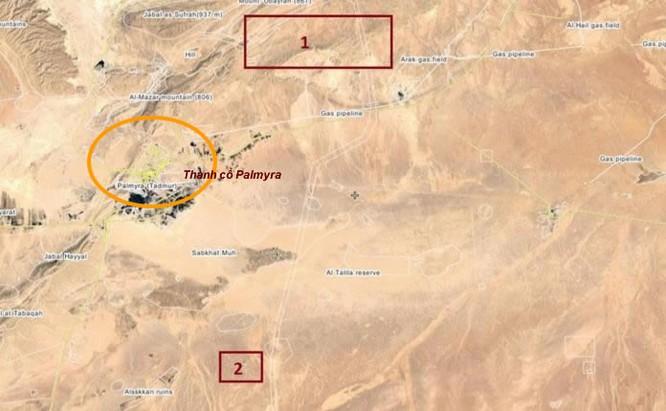 Quân đội Syria dốc sức tấn công IS hướng Palmyra – Deir Ezzor ảnh 1