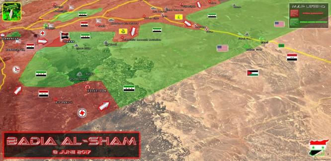 Mỹ tiếp tục tấn công quân đội Syria, FSA vẫn thất bại trước quân Assad ảnh 2