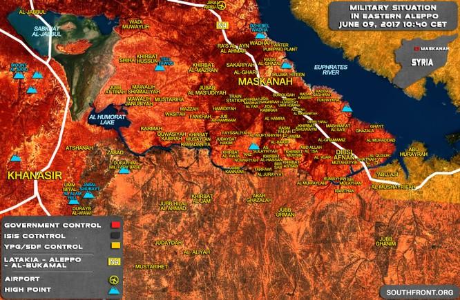 """""""Hổ Syria"""" nghiền nát phiến quân, chiếm hơn 20 cứ điểm IS giáp Aleppo - Raqqa ảnh 1"""