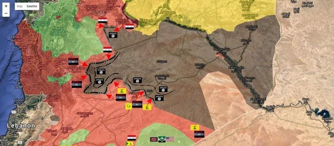 Chảo lửa Deir Ezzor: Quân đội Syria đập tan IS tấn công sân bay ảnh 1