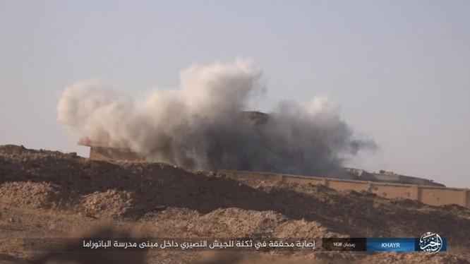 """IS dốc toàn lực tấn chiếm Deir Ezzor, quân đội Syria """"ngàn cân treo sợi tóc"""" ảnh 6"""