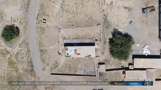 """Chiến sự Syria: SDF tấn chiếm 4 quận ngoại ô """"thủ đô"""" IS (video) ảnh 2"""