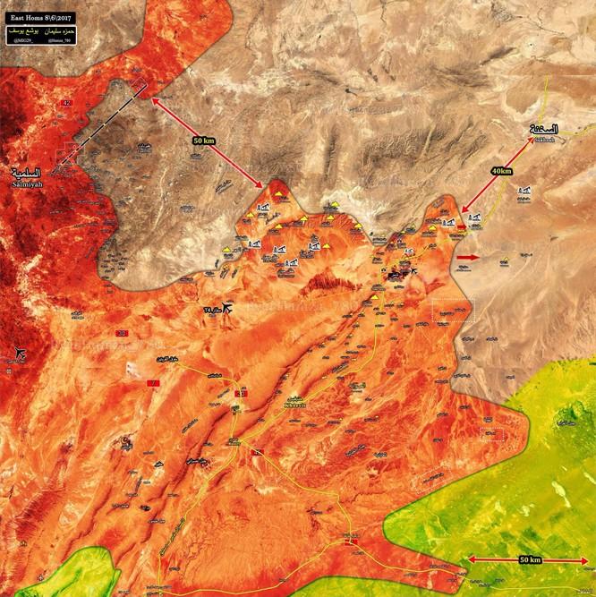 Quân đội Syria truy sát IS hướng Palmyra - Deir Ezzor (chùm video) ảnh 1