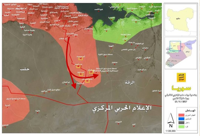 """""""Hổ Syria"""" thừa thắng xốc tới đánh diệt IS trên địa phận Raqqa (video) ảnh 1"""