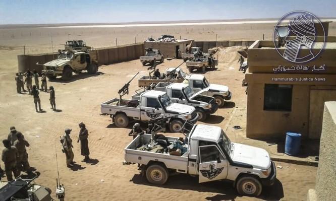 Chiến sự Syria: Đặc nhiệm Mỹ huấn luyện chiến đấu, tuần tra cùng phiến quân (video) ảnh 6