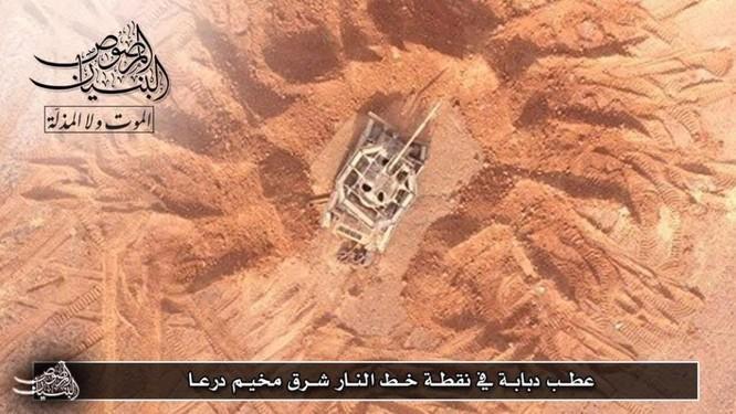 Quân đội Syria trút hỏa lực hủy diệt phiến quân cố thủ Daraa (video) ảnh 3