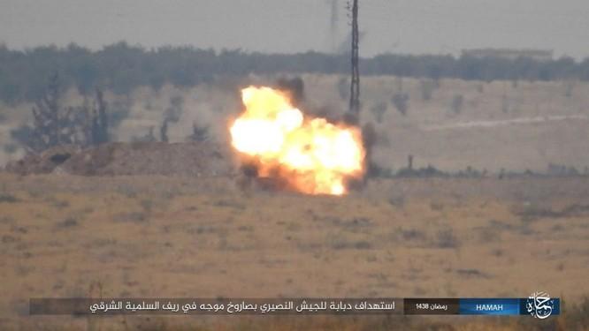 """""""Hổ Syria"""" đập tan IS, chiếm 12 địa bàn, 1.300 km2 tại tỉnh Raqqa (video) ảnh 2"""