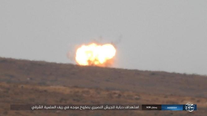 """""""Hổ Syria"""" đập tan IS, chiếm 12 địa bàn, 1.300 km2 tại tỉnh Raqqa (video) ảnh 4"""