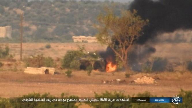 """""""Hổ Syria"""" đập tan IS, chiếm 12 địa bàn, 1.300 km2 tại tỉnh Raqqa (video) ảnh 5"""