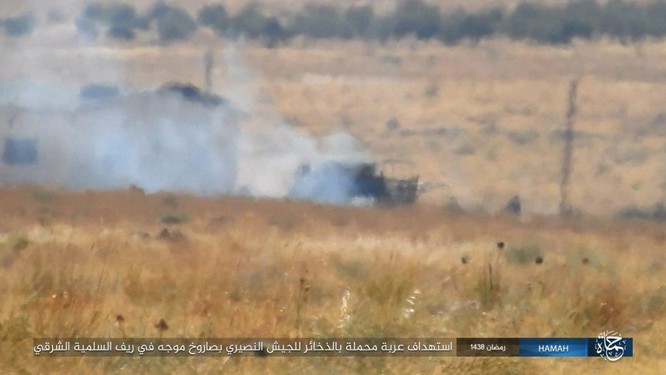 """""""Hổ Syria"""" đập tan IS, chiếm 12 địa bàn, 1.300 km2 tại tỉnh Raqqa (video) ảnh 6"""
