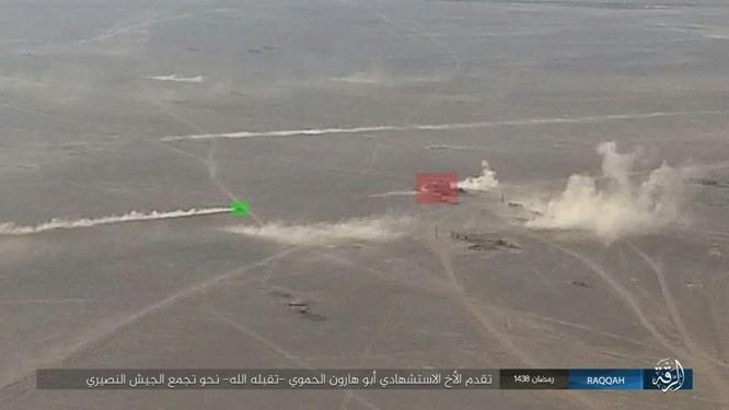 """""""Hổ Syria"""" đập tan IS, chiếm 12 địa bàn, 1.300 km2 tại tỉnh Raqqa (video) ảnh 7"""