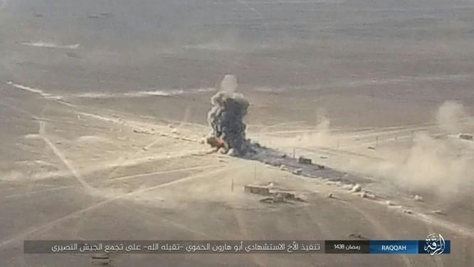 """""""Hổ Syria"""" đập tan IS, chiếm 12 địa bàn, 1.300 km2 tại tỉnh Raqqa (video) ảnh 8"""