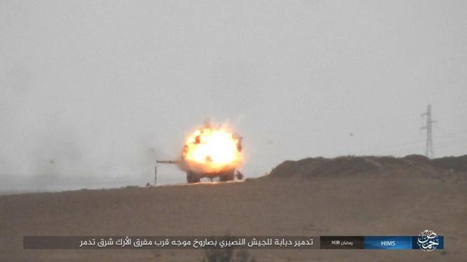Không quân Nga đánh đòn hủy diệt, quân đội Syria truy quét IS ở Palmyra ảnh 8
