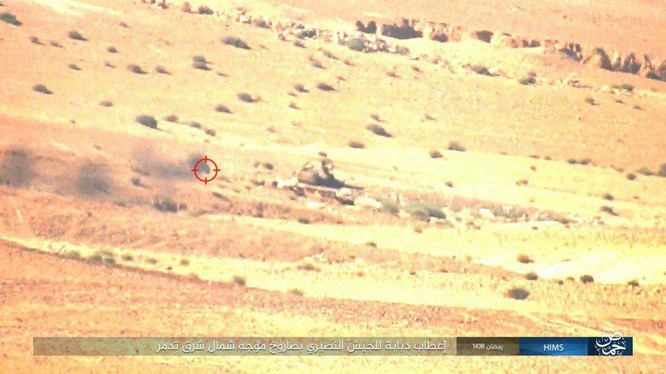 Không quân Nga đánh đòn hủy diệt, quân đội Syria truy quét IS ở Palmyra ảnh 10