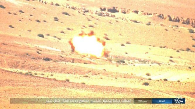 Không quân Nga đánh đòn hủy diệt, quân đội Syria truy quét IS ở Palmyra ảnh 11