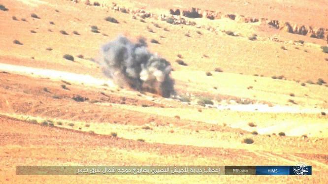 Không quân Nga đánh đòn hủy diệt, quân đội Syria truy quét IS ở Palmyra ảnh 12
