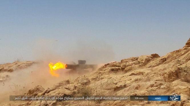Không quân Nga đánh đòn hủy diệt, quân đội Syria truy quét IS ở Palmyra ảnh 13