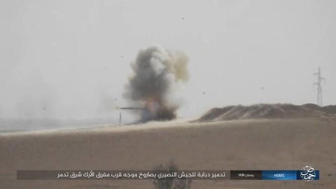 IS bắn tên lửa TOW Mỹ đánh chặn quân đội Syria ảnh 4