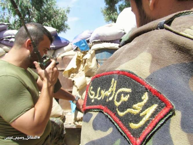 Vệ binh Syria giáng đòn vào chiến tuyến thánh chiến ngoại ô Damascus ảnh 1