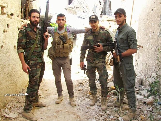 Vệ binh Syria giáng đòn vào chiến tuyến thánh chiến ngoại ô Damascus ảnh 3
