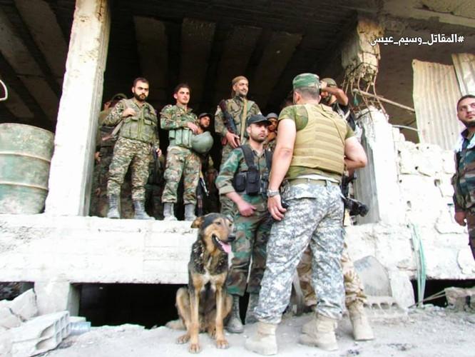 Vệ binh Syria giáng đòn vào chiến tuyến thánh chiến ngoại ô Damascus ảnh 5