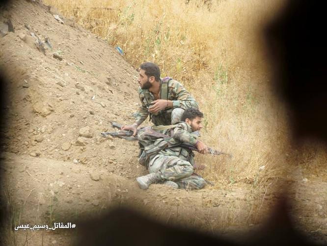 Vệ binh Syria giáng đòn vào chiến tuyến thánh chiến ngoại ô Damascus ảnh 8