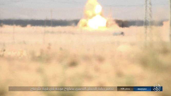 """""""Hổ Syria"""" truy diệt phiến quân IS trên chiến trường Hama (video) ảnh 5"""
