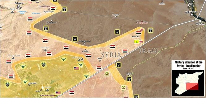 Quân đội Syria đánh tan IS, giải phóng địa bàn chiến lược ở tỉnh Homs ảnh 1