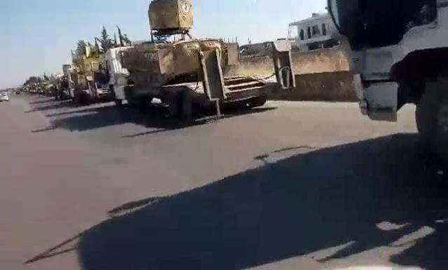 """T-90 Nga cùng """"Diều hâu sa mạc"""" Syria xung trận đánh IS (video) ảnh 3"""