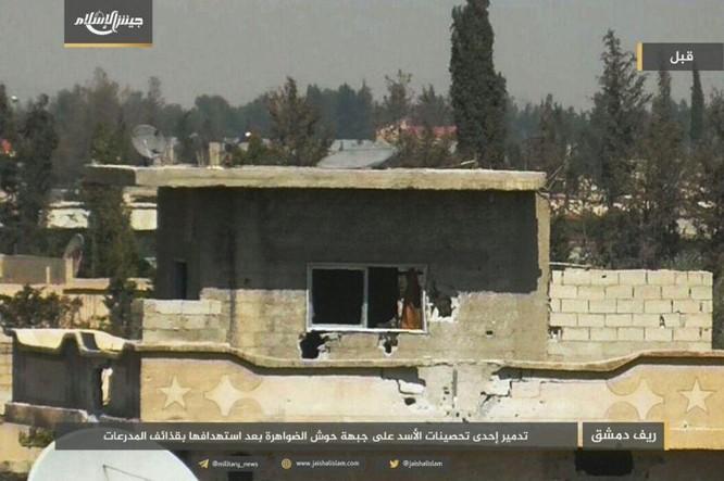 Phiến quân bắn cháy xe tăng Syria, tuyên bố tử thủ ở Damascus (video) ảnh 4