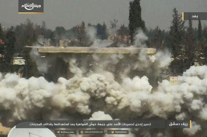 Phiến quân bắn cháy xe tăng Syria, tuyên bố tử thủ ở Damascus (video) ảnh 5