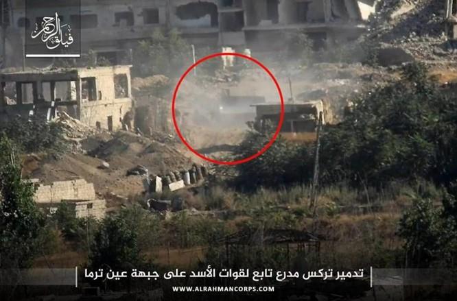 Phiến quân ngoại vi Damascus liều chết chống trả quân đội Syria ảnh 2