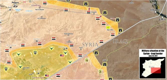 Giải cứu Deir Ezzor: Trực thăng Nga yểm hộ, quân đội Syria tấn công căn cứ chiến lược ảnh 1