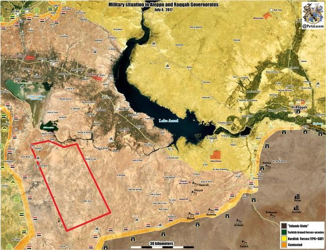 Quân đội Syria nghiền nát IS, quét sạch phiến quân ở Aleppo (chùm video) ảnh 1