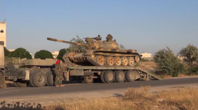 """""""Ông lão"""" T-55MV xông pha trên chiến trường Syria ảnh 8"""