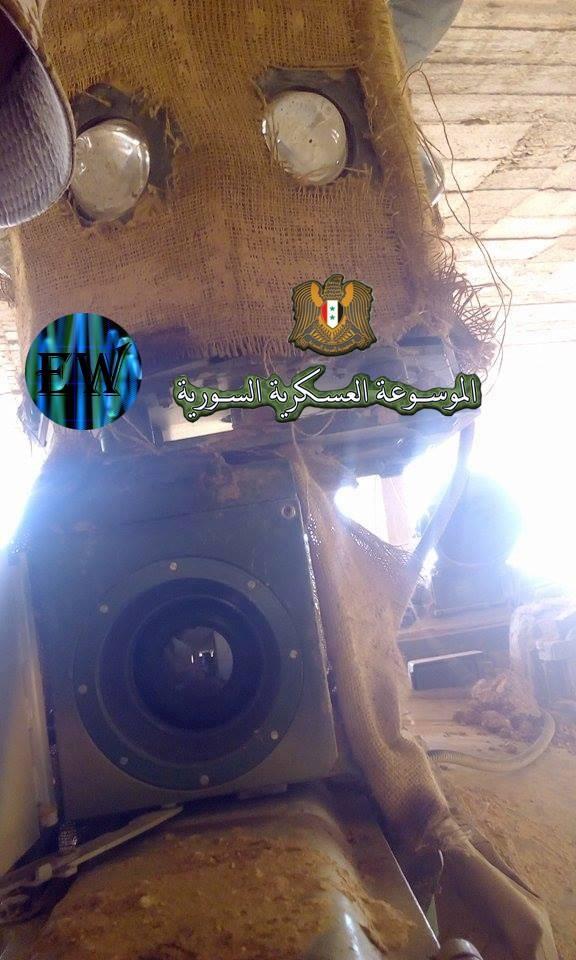 """""""Ông lão"""" T-55MV xông pha trên chiến trường Syria ảnh 2"""