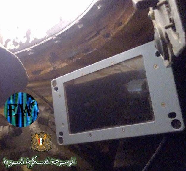 """""""Ông lão"""" T-55MV xông pha trên chiến trường Syria ảnh 3"""