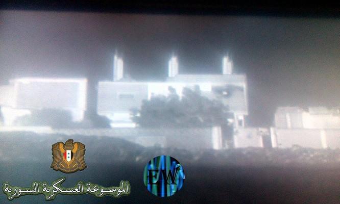 """""""Ông lão"""" T-55MV xông pha trên chiến trường Syria ảnh 6"""