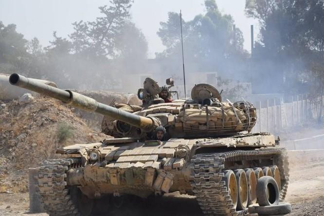 Vệ binh Syria đè bẹp phiến quân, chiếm một số địa bàn ở Damascus ảnh 1