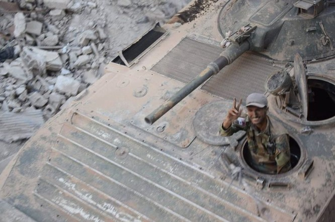 Vệ binh Syria đè bẹp phiến quân, chiếm một số địa bàn ở Damascus ảnh 4