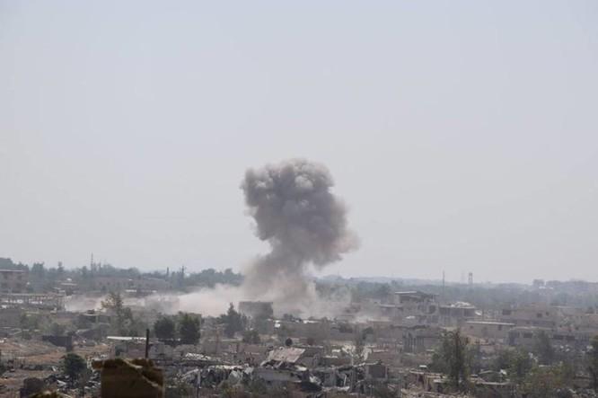 Vệ binh Syria đè bẹp phiến quân, chiếm một số địa bàn ở Damascus ảnh 5
