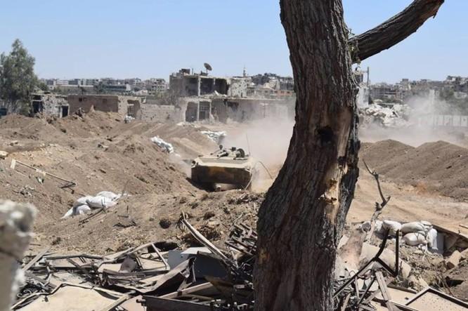 Vệ binh Syria đè bẹp phiến quân, chiếm một số địa bàn ở Damascus ảnh 6