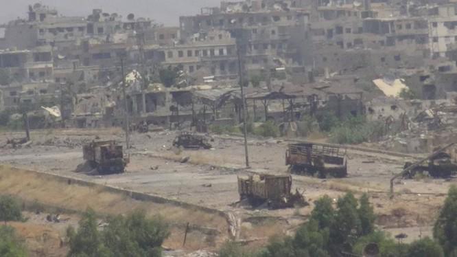 Vệ binh Syria đè bẹp phiến quân, chiếm một số địa bàn ở Damascus ảnh 9