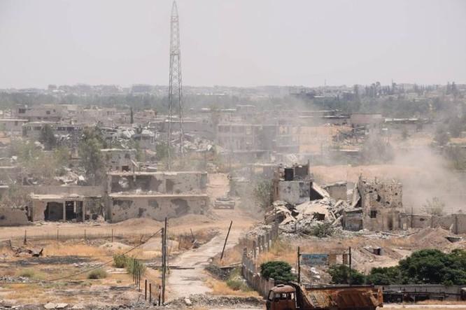 Vệ binh Syria đè bẹp phiến quân, chiếm một số địa bàn ở Damascus ảnh 10