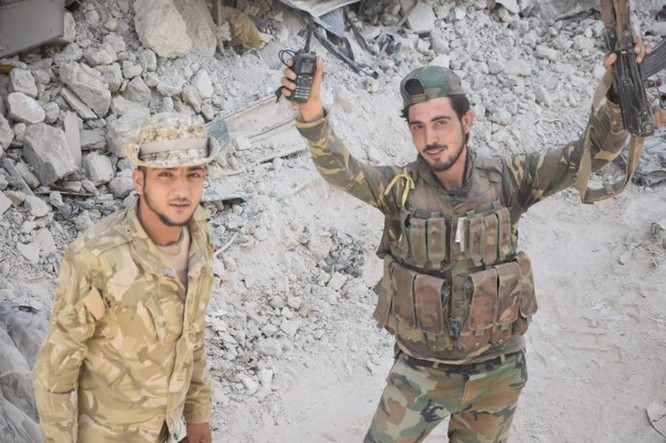 Vệ binh Syria đè bẹp phiến quân, chiếm một số địa bàn ở Damascus ảnh 11